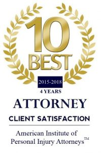 2015-2018 10 Best in Client Satisfaction
