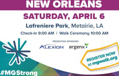 8th Annual New Orleans Myasthenia Gravis Walk