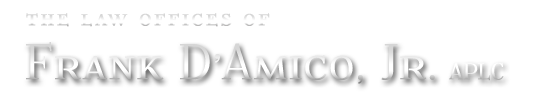 Frank D'Amico Law Firm Logo